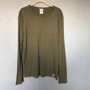 EUC Abercrombie & Fitch Olive Green Muscle Tee M